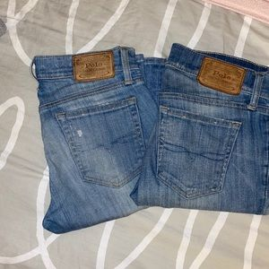 2 pair of Polo jeans